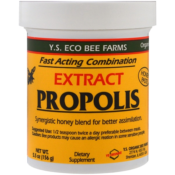 Y.S. Eco Bee Farms, Propolis Extract, 5.5 oz (156 g)