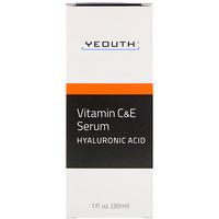 Сыворотка с витаминами C и E и гиалуроновой кислотой, 30 мл - фото