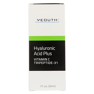 Yeouth, Hyaluronic Acid Plus, 1 fl oz (30 ml)