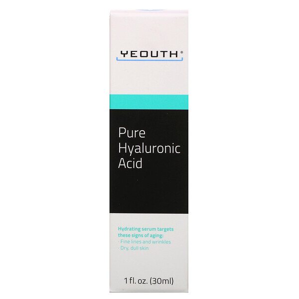 Pure Hyaluronic Acid, 1 fl oz (30 ml)