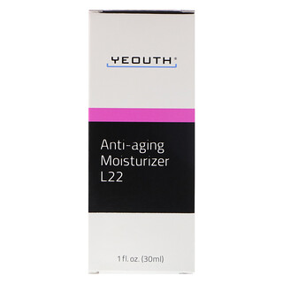 Yeouth, Humectante L22 antiedad, 1 fl. Oz (30 ml)