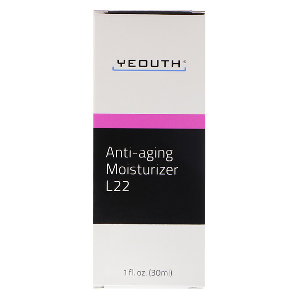 Humectante L22 antiedad, 1 fl. Oz (30 ml)