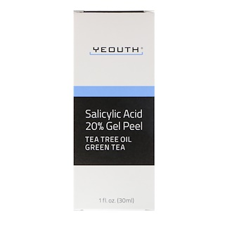 Yeouth, Salicylic Acid, 20% Gel Peel, 1 fl oz (30 ml)