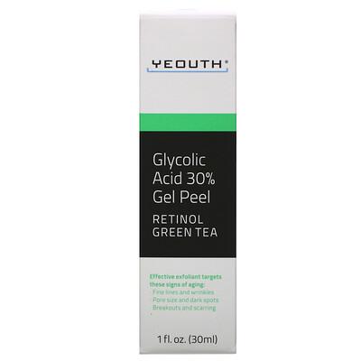Купить Yeouth Гель-пилинг с 30% содержанием гликолевой кислоты, 30мл (1жидкая унция)