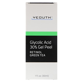 Yeouth, Glycolic Acid, 30% Gel Peel, 1 fl oz (30 ml)