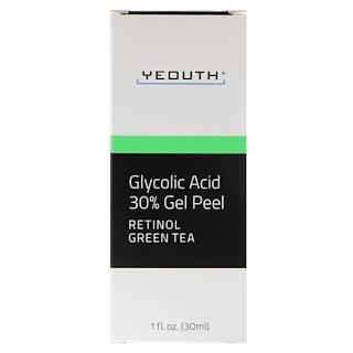 Yeouth, Glycolic Acid, 30% Gel Peel, 1 fl oz (30 ml)
