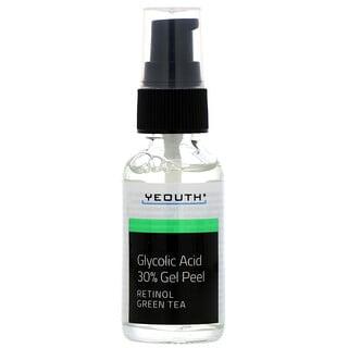 Yeouth, Gel exfoliant à l'acide glycolique 30%, 30ml