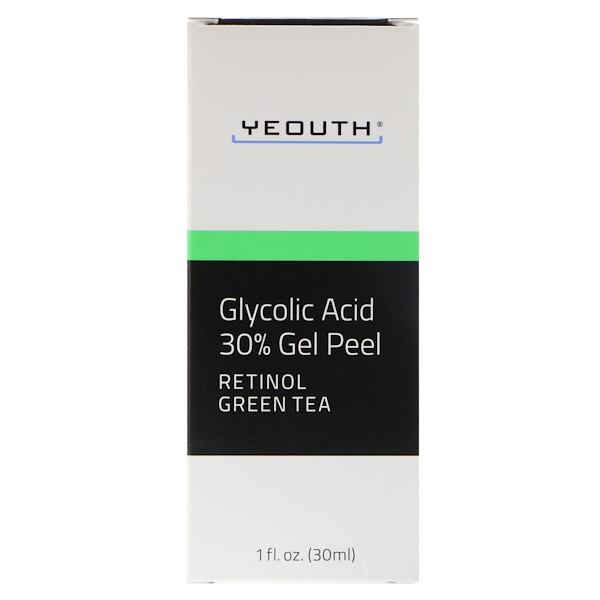 Yeouth, Glycolic Acid 30% Gel Peel, 1 fl oz (30 ml)