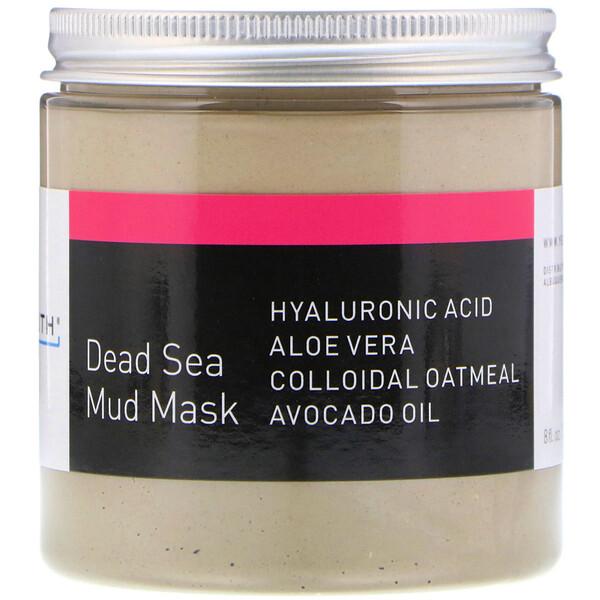 死海泥面膜,8液量盎司(236毫升)