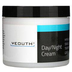 Yeouth, 日/晚霜,4 液體盎司(118 毫升)