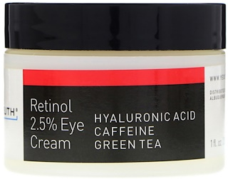 Yeouth, Retinol, 2.5% Eye Cream, 1 fl oz (30 ml)
