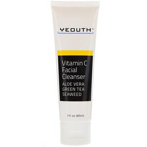 Yeouth, Vitamin C Facial Cleanser, 3 fl oz (89 ml) отзывы покупателей