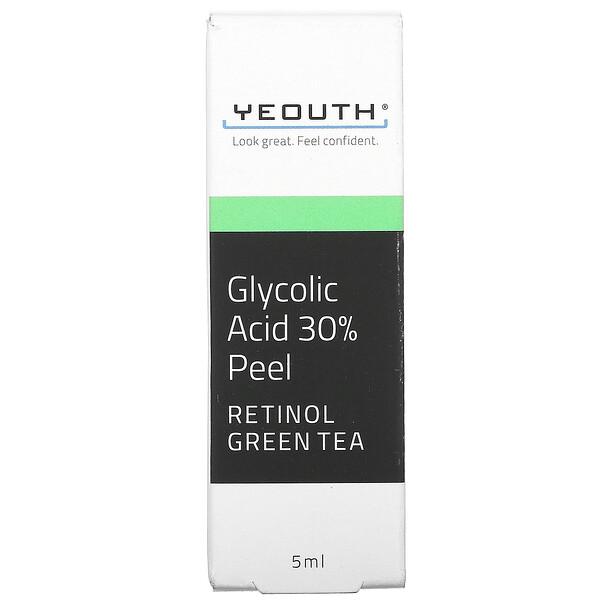 Yeouth, Glycolic Acid 30% Peel, 5 ml