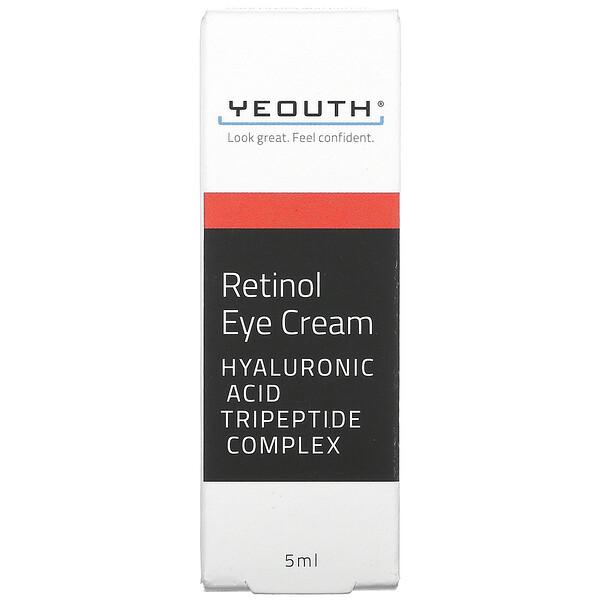 Yeouth, Retinol Eye Cream, 5 ml