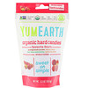 YumEarth, Organic Hard Candies, בטעם פירות, 93.6 גרם
