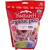 YumEarth, Organic Pops, Very Very Cherry, 50 Pops,12.3 oz (349 g) (Discontinued Item)