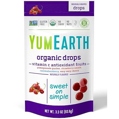 Органические леденцы с витамином С, Anti-Oxifruits, 93,6 г (3,3 унции) органические леденцы дерзкий лимон 93 6 г 3 3 унции