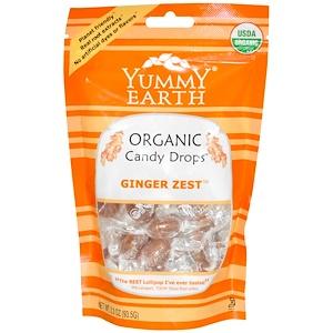 Ям Ерт, Organic Candy Drops, Ginger Zest, 3.3 oz (93.5 g) отзывы покупателей