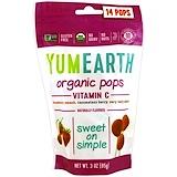 Отзывы о YumEarth, Organic Vitamin C Pops, 14 Pops, 3 oz (85 g)