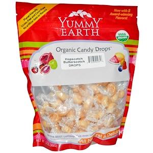 Ям Ерт, Organic Candy Drops, Family Size Bag, Hopscotch Butterscotch, 13 oz (369 g) отзывы покупателей