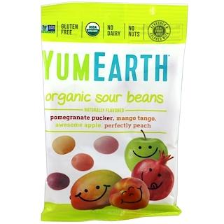 YumEarth, Organic Sour Beans, 12 Packs, 2.5 oz (71 g) Each