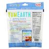 YumEarth, Ursinhos de Goma, Sabores Variados, 5 Pacotes de Lanche, 19,8 g (0,7 oz) Cada