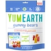 YumEarth, Gummy Bears, Assorted Flavors, 5 Snack Packs, 0.7 oz (19.8 g) Each