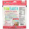 YumEarth, وجبات فواكه عضوية خفيفة، استوائية، 5 أكياس، 0.62 أونصة (17.6 جم) لكل كيس
