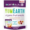 YumEarth, Organic Fruit Snacks, Original , 10 Packs, 0.7 oz (19.8 g) Each