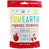 YumEarth, Organic Licorice, Pomegranate, 5 oz (142 g)