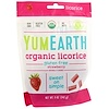 YumEarth, Organic Licorice, Strawberry, 5 oz (142 g)