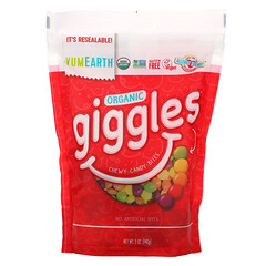 YumEarth, Organic Giggles,5 盎司(142 克)