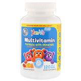 Отзывы о YumV's, Мультивитаминная формула с минералами, фруктовый вкус, 120 желатиновых медвежат