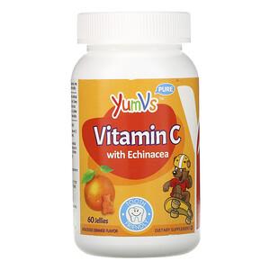 Ям Вис, Vitamin C with Echinacea, Orange Flavor, 60 Jellies отзывы