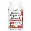 YumV's, Calcium, Magnesium & Vitamin D, Raspberry Flavor, 90 Gummies