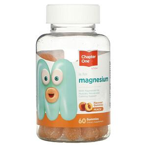 Zahler, M is for Magnesium, Peach, 60 Gummies