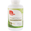 Zahler, Omega 3 Platinum, Advanced Omega 3 Fish Oil, 3000 mg, 360 Softgels