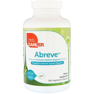 Zahler, Abreve, Advanced Immune System Support Formula, 180 Vegetarian Capsules