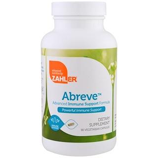 Zahler, Abreve, Immune Support, 90 Vegetarian Capsules