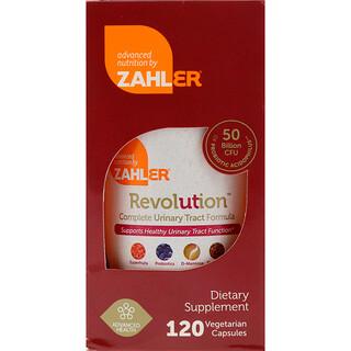 Zahler, Revolución, fórmula completa para el tracto urinario, 120 cápsulas vegetarianas