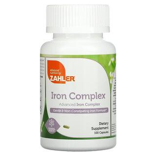 Zahler, Iron Complex, Advanced Iron Complex, 100 Capsules