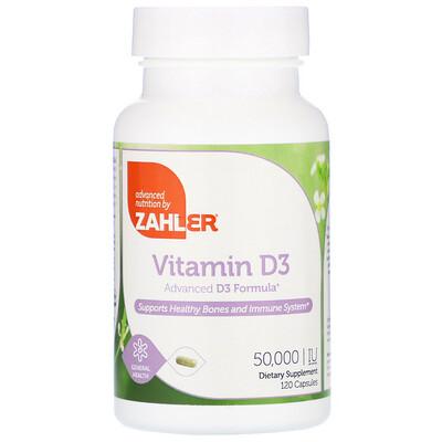 vitamin d3 blister 30 capsules Vitamin D3, 50,000 IU, 120 Capsules