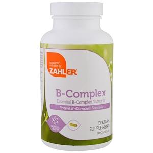 Залер, B-Complex, Essential B-Complex Nutrients, 90 Capsules отзывы