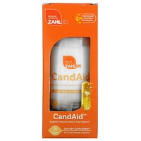 Zahler, CandAid, Supports Intestinal Health & Yeast Balance, 60 Timed Release Capsules
