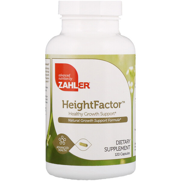 Zahler, Height Factor, Healthy Growth Support, 120 كبسولة