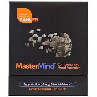 Zahler, MasterMind, Comprehensive Mood Formula , 120 Caplets