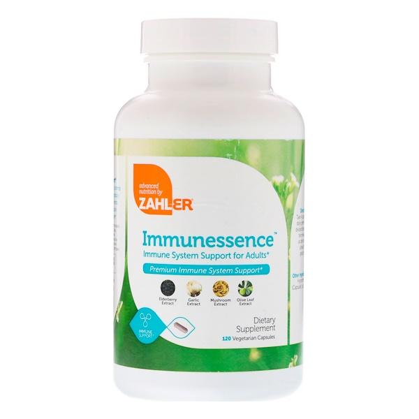 Zahler, Immunessence, Premium Immune System Support, 120 Vegetarian Capsules (Discontinued Item)
