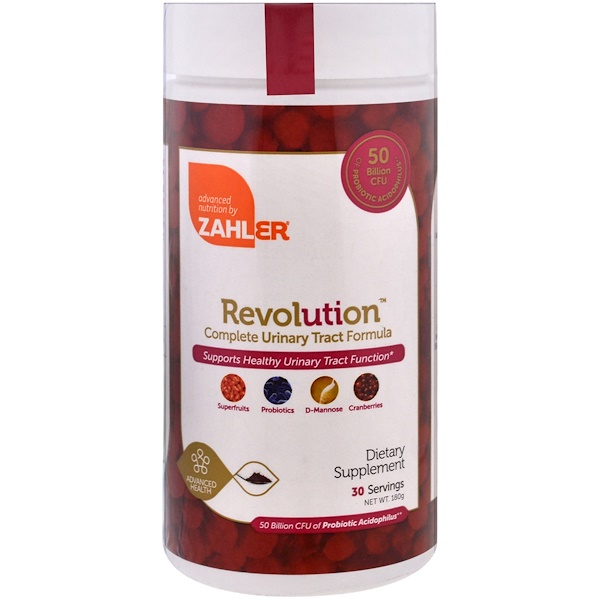 Zahler, Revolution, Complete Urinary Tract Formula , 180 g (Discontinued Item)