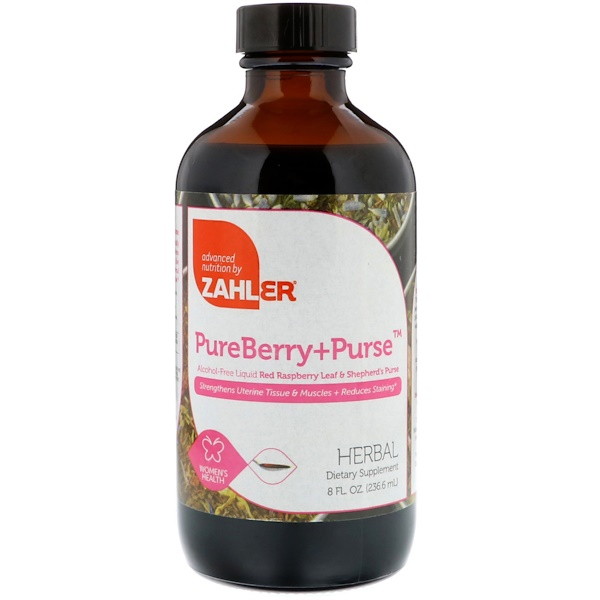 Zahler, PureBerry+Purse, 8 fl oz (236.6 ml) (Discontinued Item)