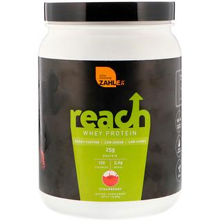 Zahler, Reach, Whey Protein, Strawberry, 1.1 lb (476 g)
